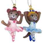 Nutcracker Ballet Gifts Ballerina Mouse Ornaments