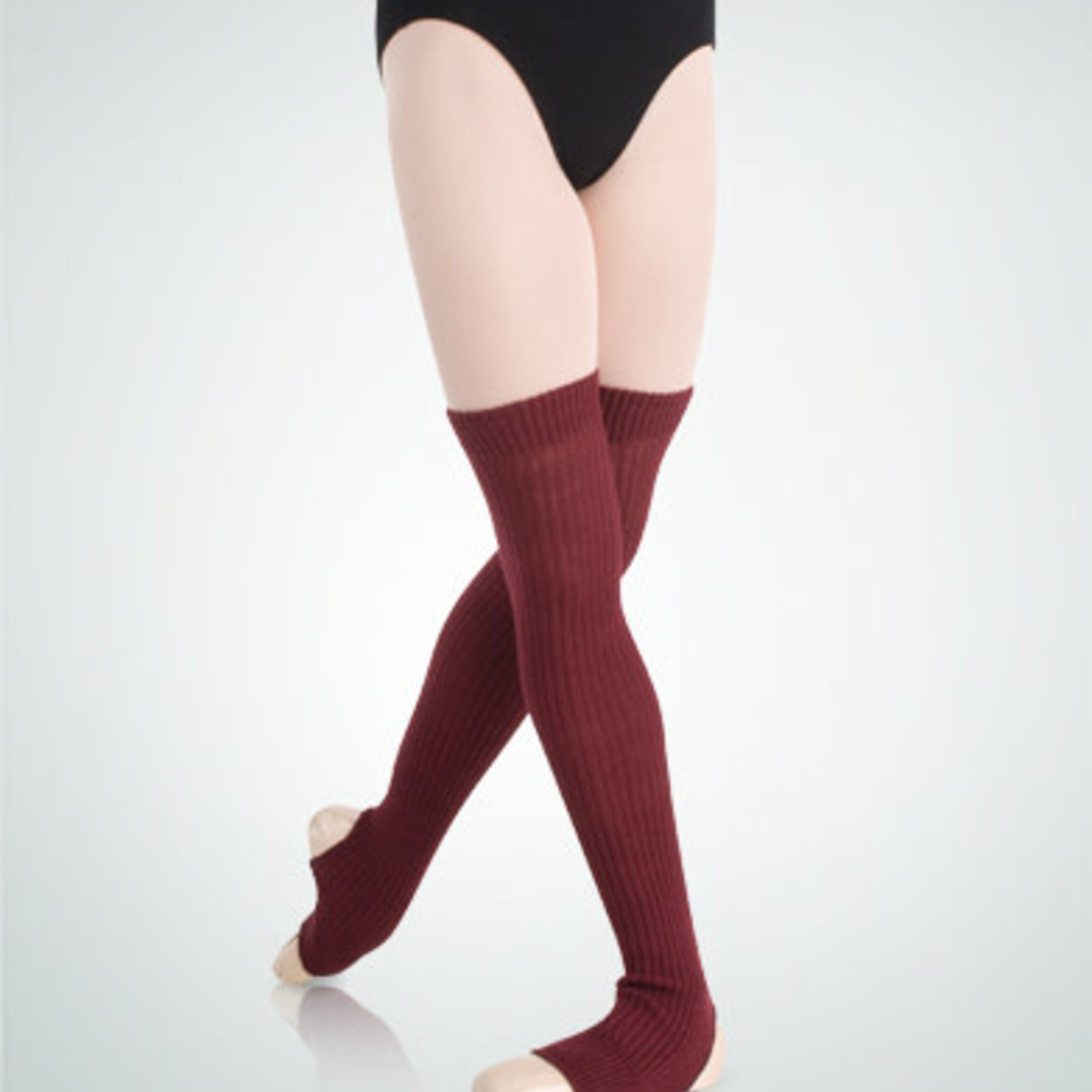 """Body Wrappers Body Wrappers 194 Stirrup 27"""" Leg Warmers"""