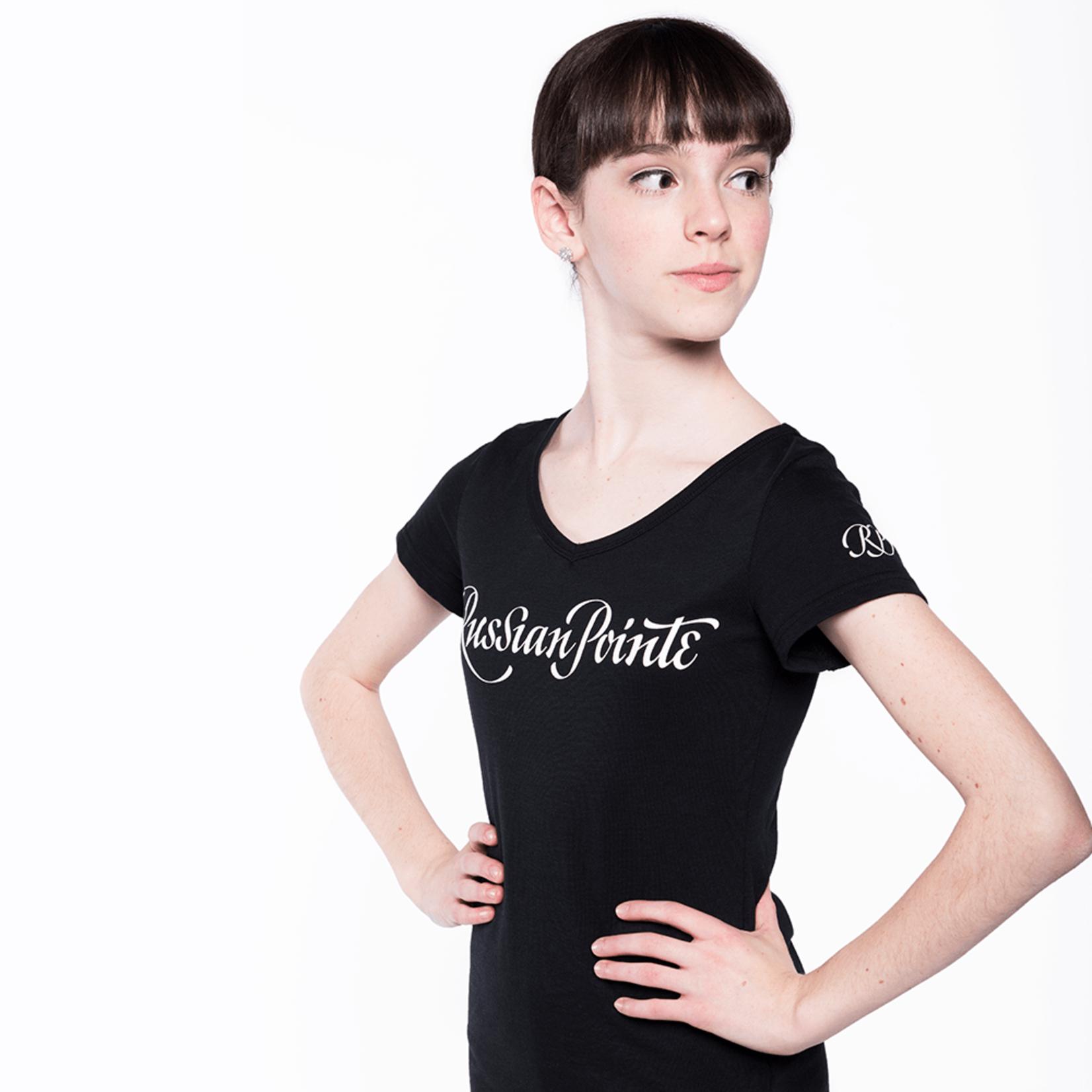 Russian Pointe Russian Pointe Logo T-Shirt
