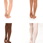 Russian Pointe Russian Pointe Convertible Seamless Toe Tights