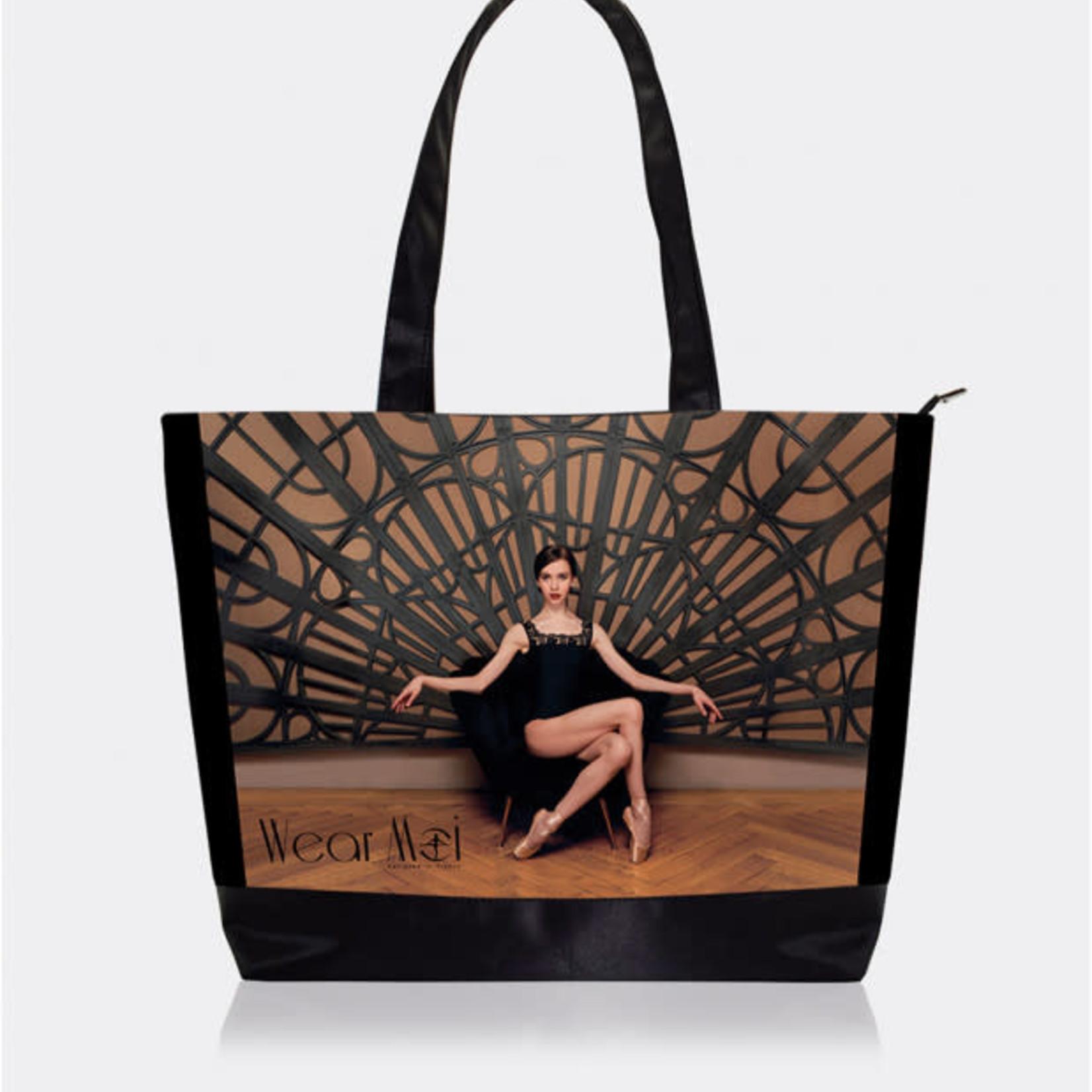 Wear Moi Wear Moi DIV107 Elegant Printed Tote Bag