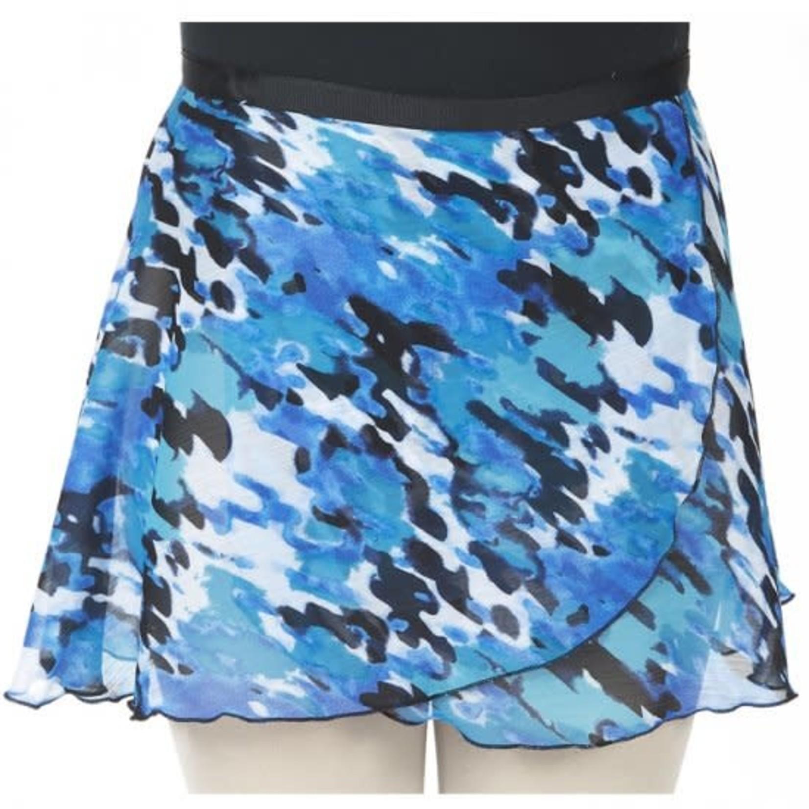 """Dasha Designs Dasha Designs 4481BL 14"""" Abstract Blue Print Wrap"""