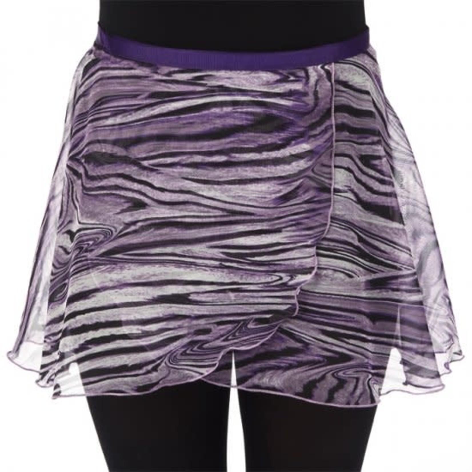 "Dasha Designs Dasha Designs 4481PP 14"" Purple Marble Print Wrap"