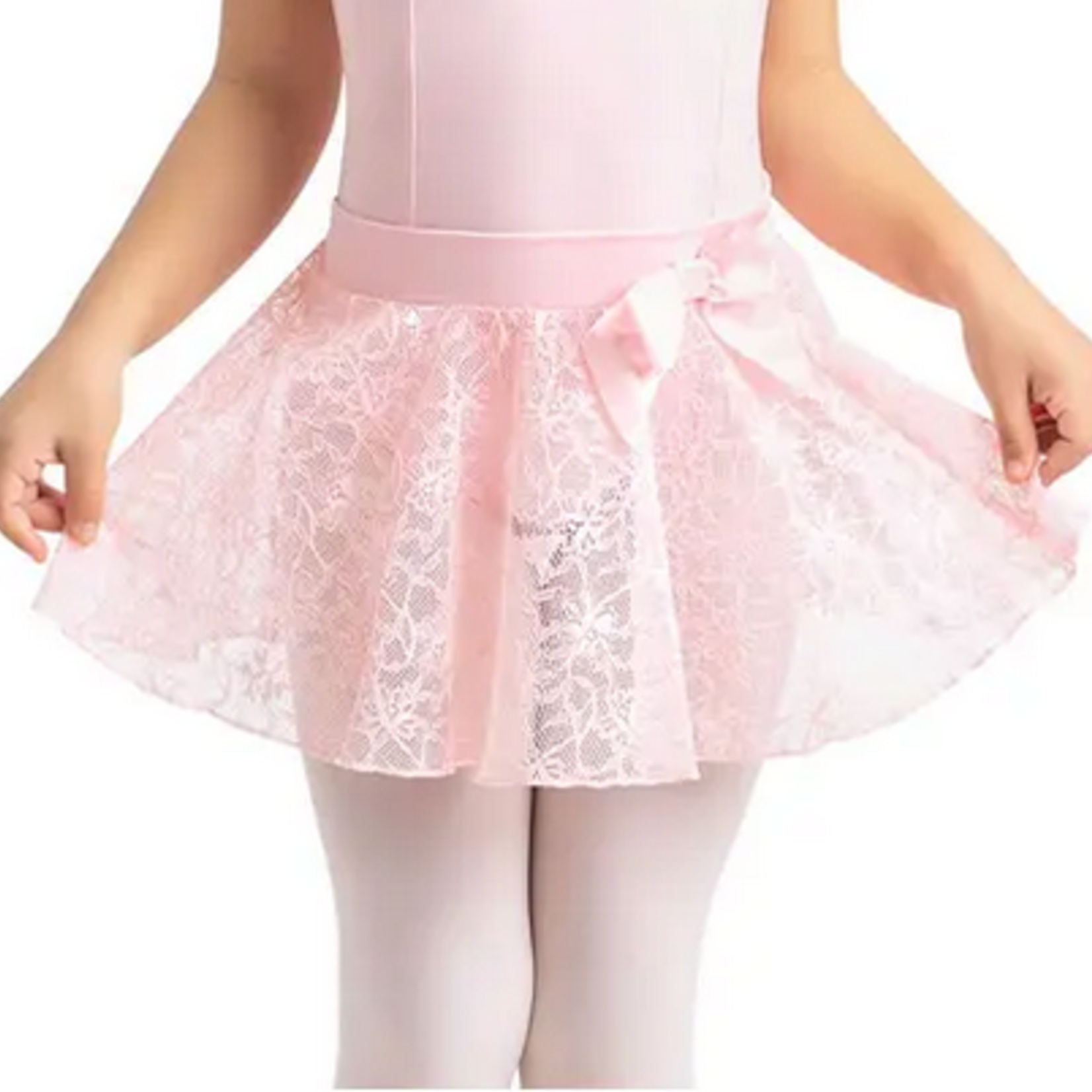 Capezio Capezio 11725C Lace Pull-On Skirt w/ Bow
