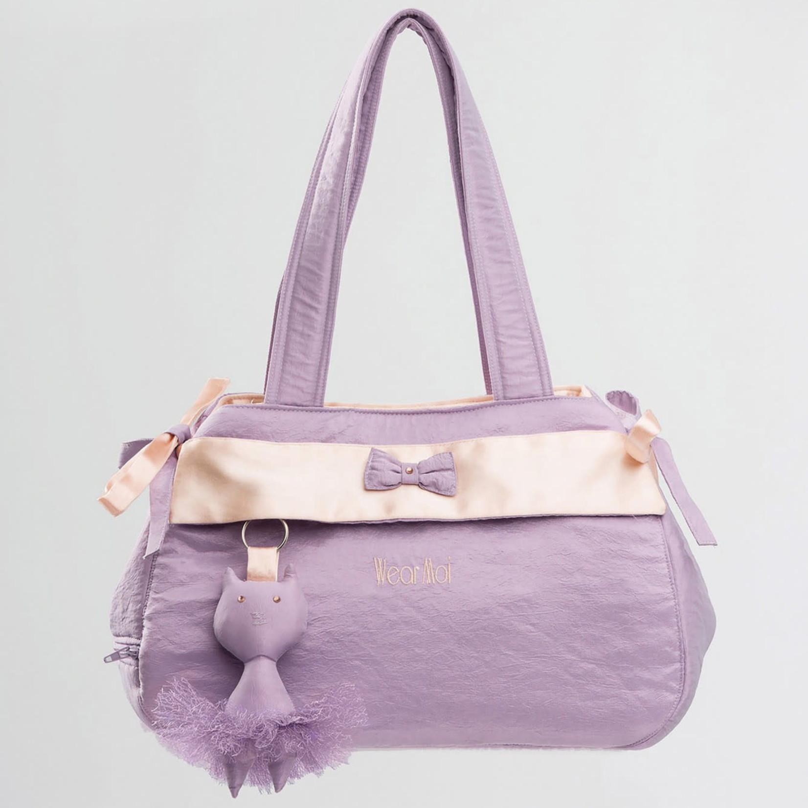 Wear Moi Wear Moi DIV67 Lilac/Salmon Taffetas Bag