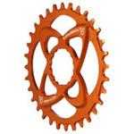 Endless Bike DM Chainring, Race Face DM 32T - Orange