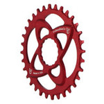 Endless Bike DM Chainring, Race Face DM 32T - Red