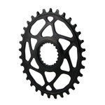 Absolute Black Absolute Black, Oval Chainring, Shimano 12 speed XTR M9100 Oval Chainring, 32T - Black