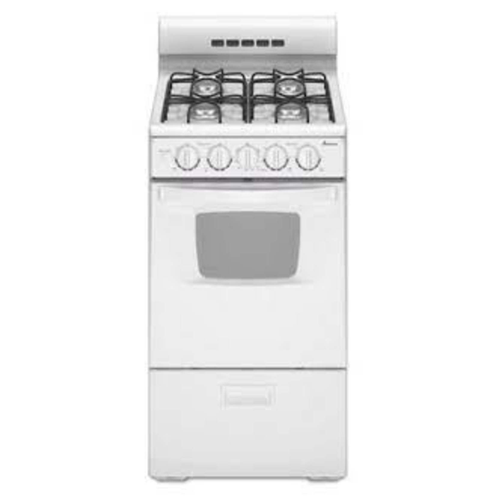 Amana 20-inch Gas Stove with Compact Oven Capacity