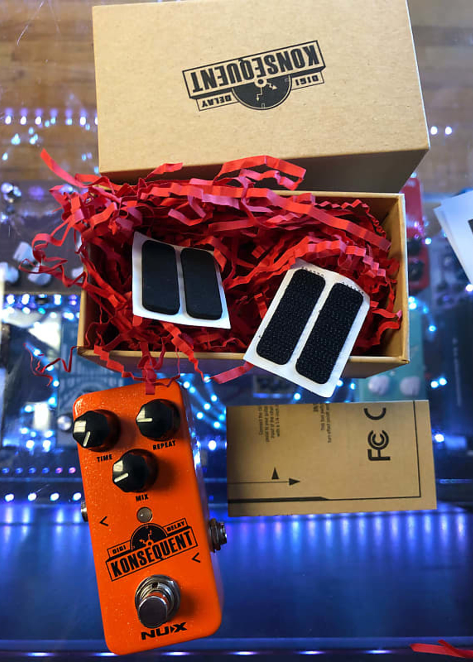 Nux NUX Konsequent NDD-2  Delay