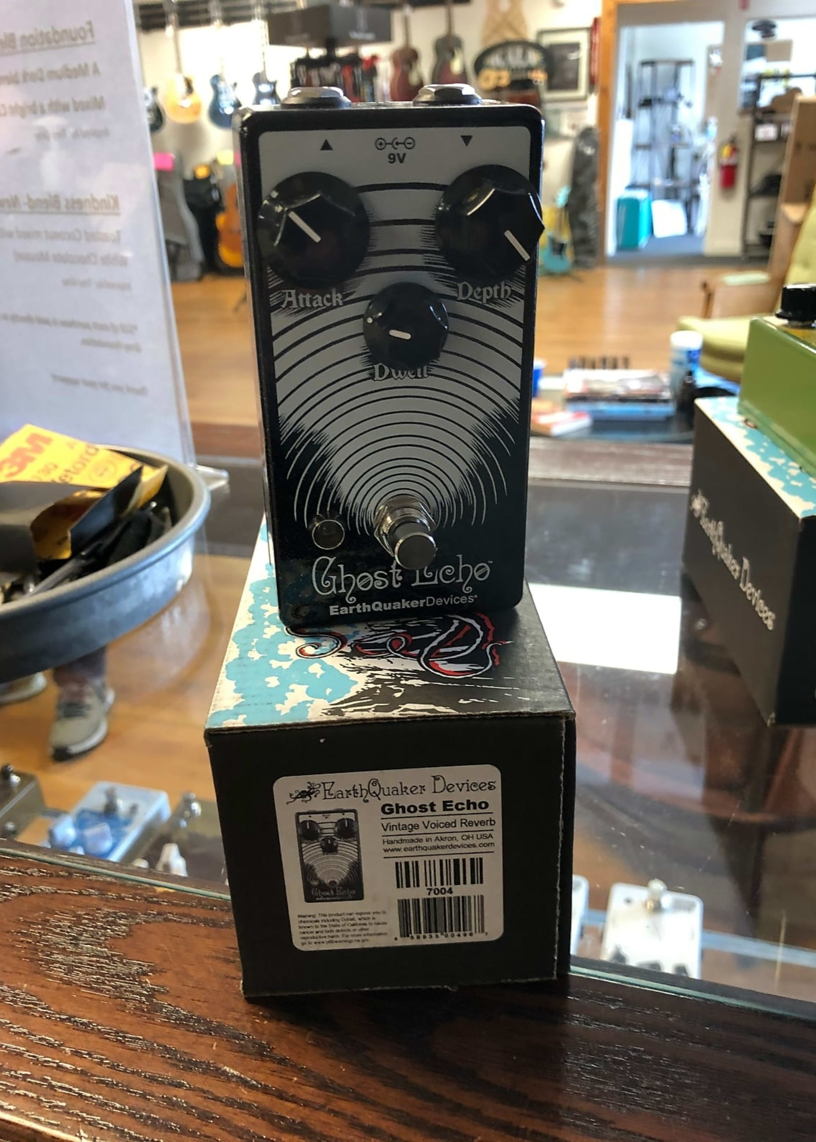 EarthQuaker Devices EQD Ghost Echo V3