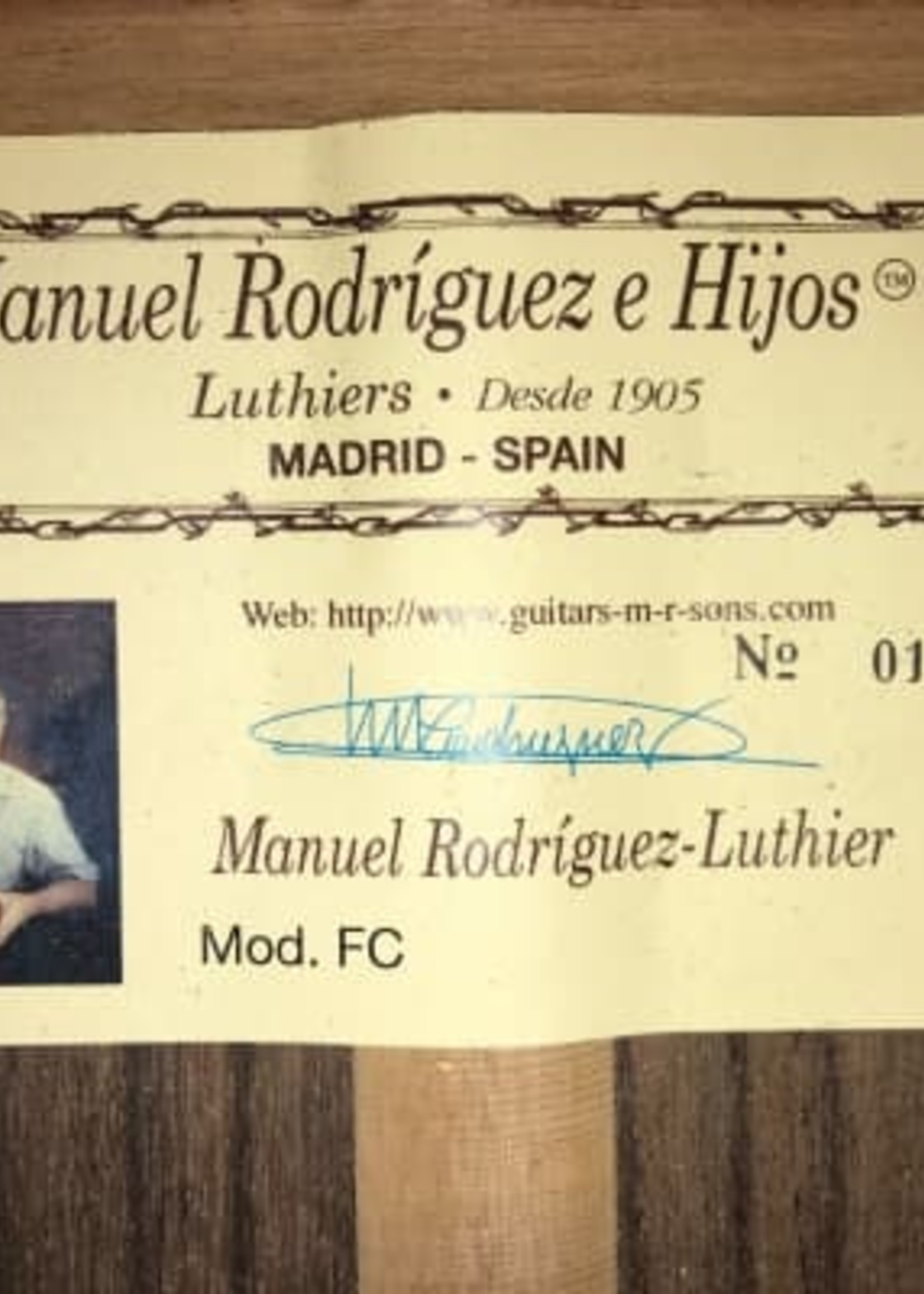 Manuel Rodriguez FC cons RD w Humicase