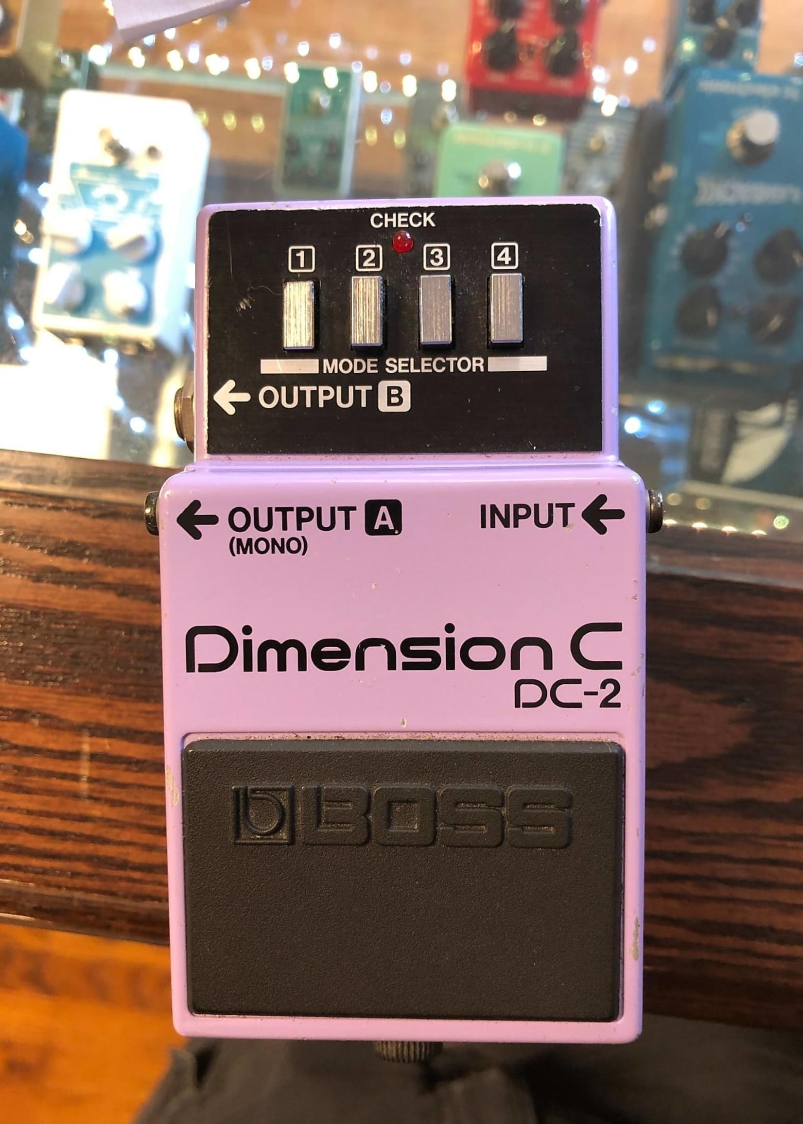Boss DC-2 Dimension Chorus 80s RM