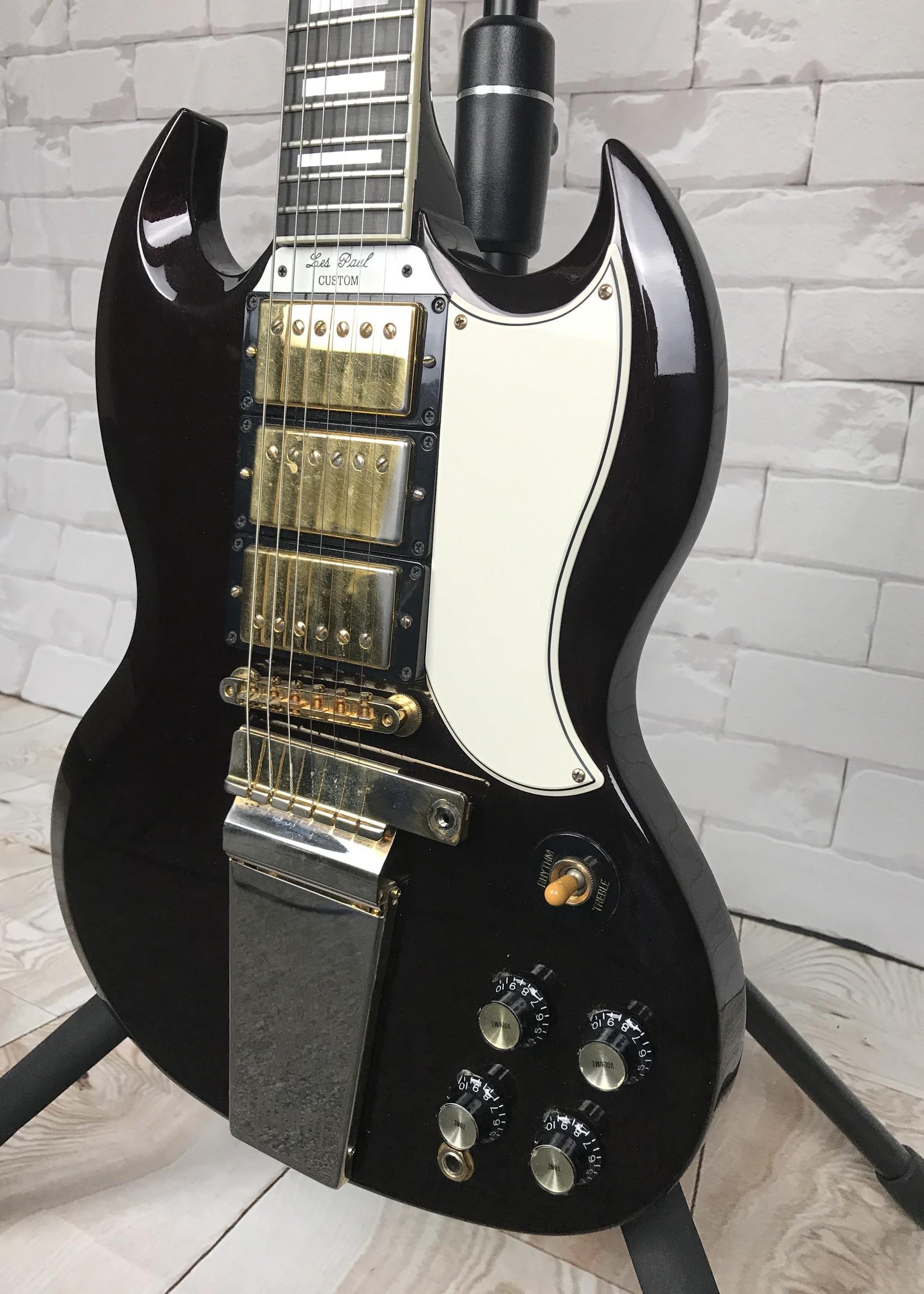 Gibson Custom Shop Les Paul Custom SG (con)