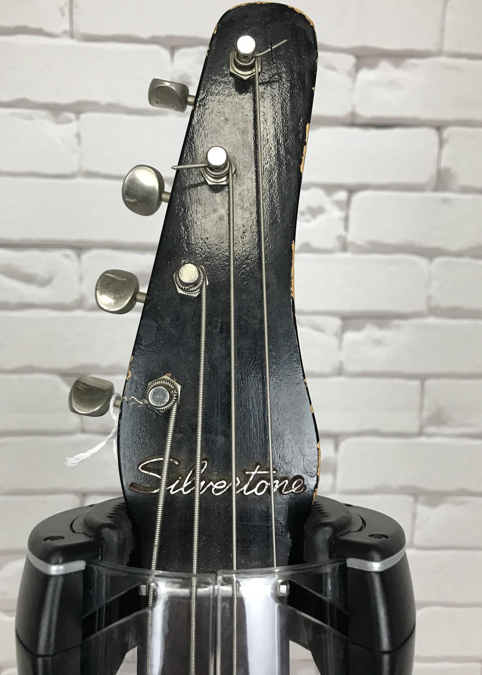 Silvertone Danelectro Dolphin Bass 1965 MW (con)
