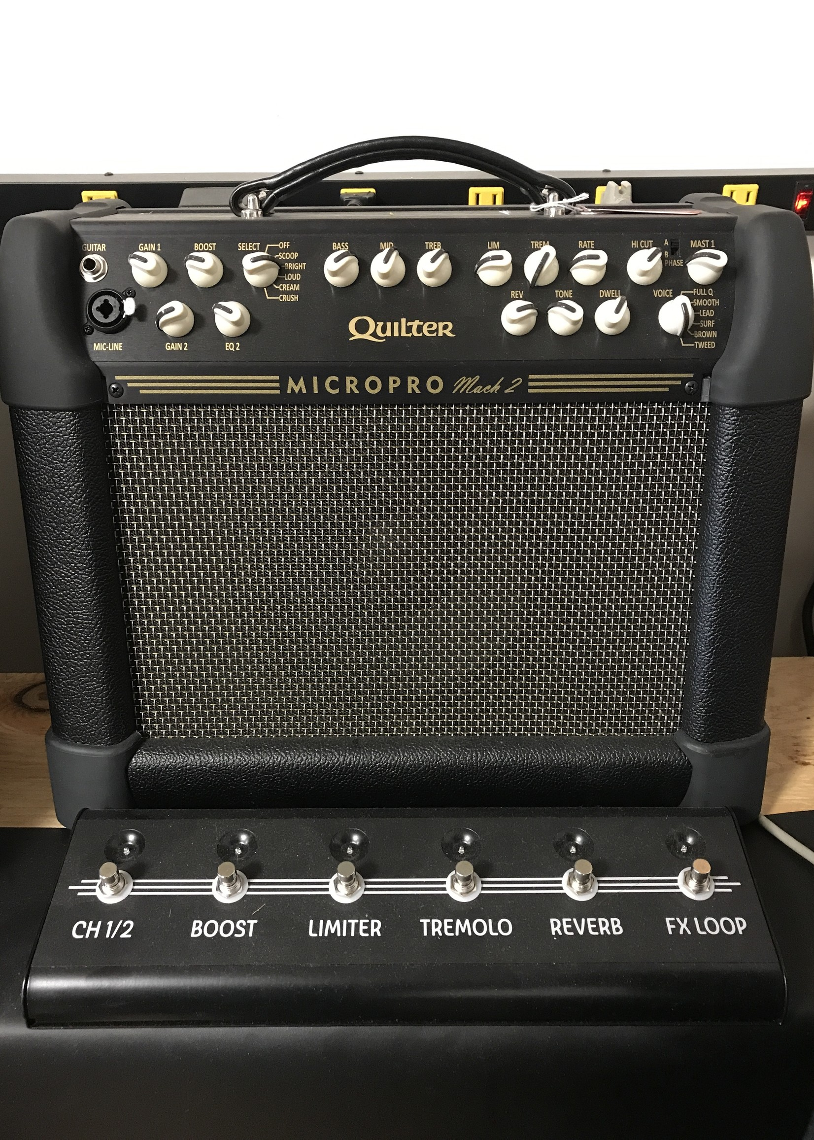 Quilter Micro Pro w Sw. RM (con)