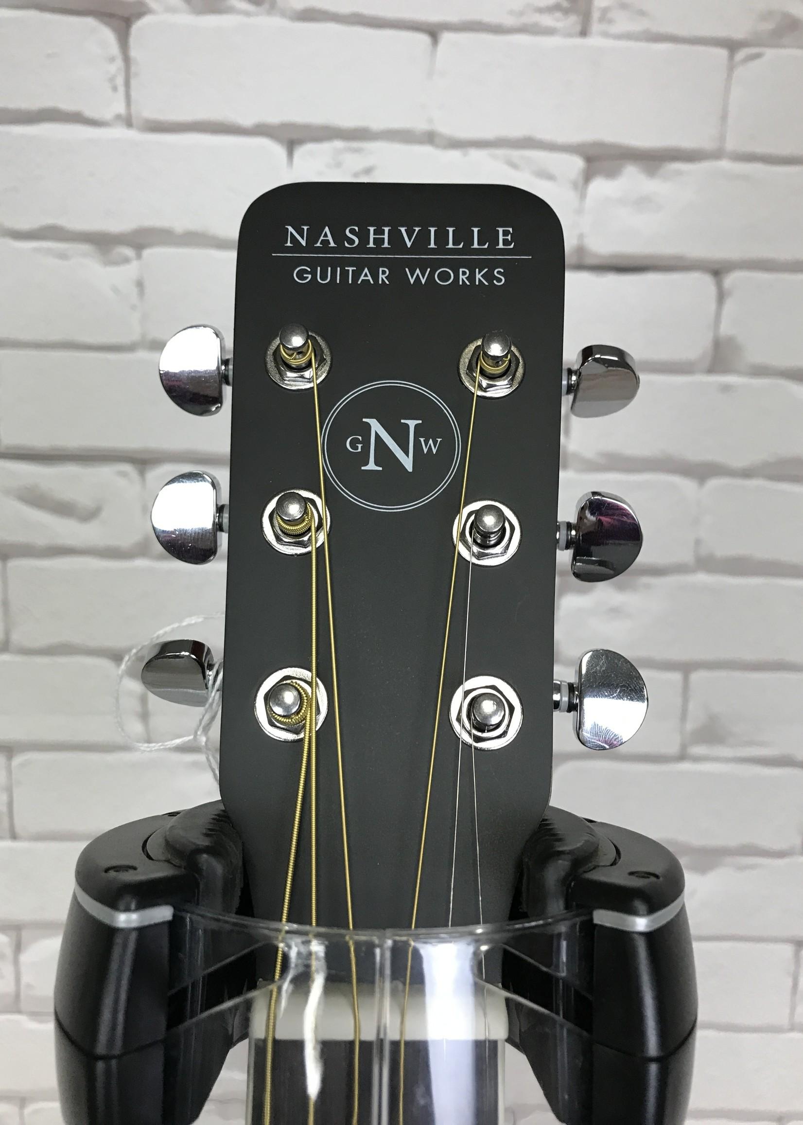 Nashville Gutiar Works Nashville OM10CEEB w bag