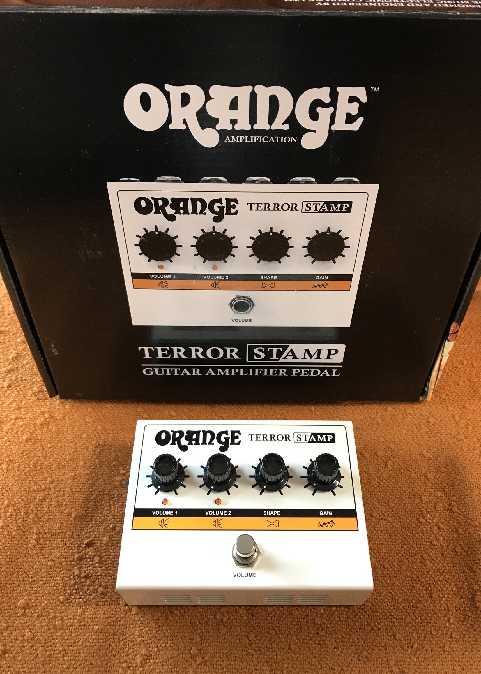 Orange Orange Terror Stamp