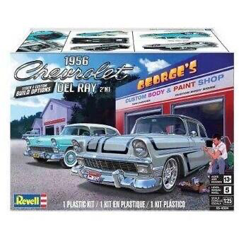 Plastic Kits REVELL (m) '56 Chevy Del Ray -  1:25 Scale