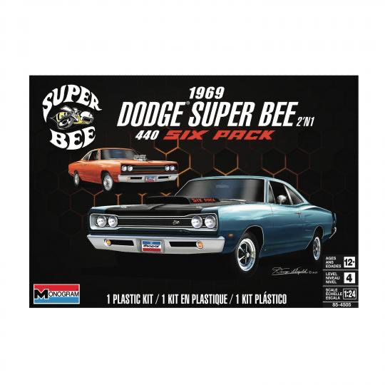 Plastic Kits REVELL (m) '1969 Dodge Super Bee -  1:25 Scale
