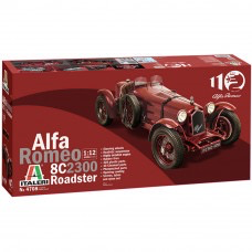 Plastic Kits ITALERI (m) Alfa Romeo 8C/2300 Roadster Alfa Romeo 110th Anniversay - 1/12 Scale