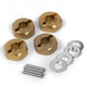Parts Maverick Quantum Aluminum 12mm Wheel Hex Hub Set (4pcs)