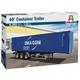 Plastic Kits ITALERI (k)  40' Container Trailer - 1:24 Scale.