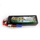 Battery LiPo Gens Ace 5000mAh 14.8v 50C 14.8V Soft Case Lipo Battery (EC5 Plug) Bashing Series