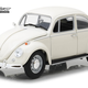 Diecast Diecast 1:18 Lotus White 1967 VW Beetle Right Hand Drive