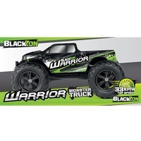 Cars Elect RTR BlackZon Warrior MT 1/12 2wd  Brushed Electric Monster Truck RTR