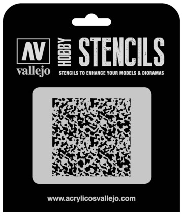 Paint Vallejo 1/72 Weathered Paint Stencil