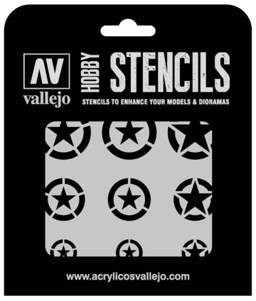 Paint Vallejo 1/32 USAF Markings Stencil