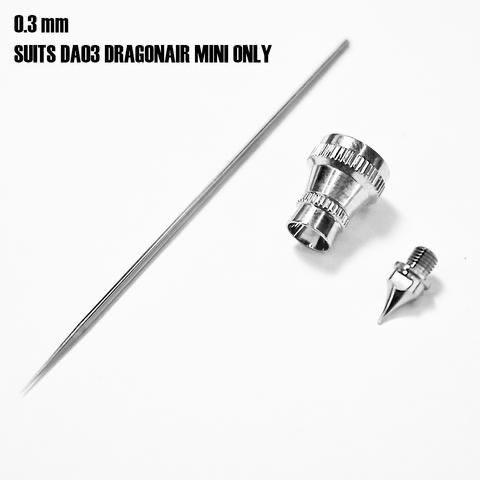 Paint SMS Dragonair Airbrush 0.3mm Mini Nozzle Kit