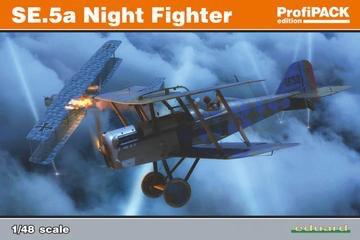 Plastic Kits EDUARD (l) 1/48 Scale - SE.5A Night Fighter Profipack Plastic Model Kit