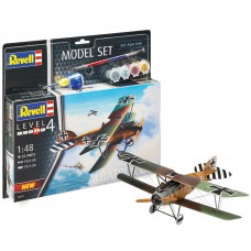 Plastic Kits REVELL (k) AlbatrosL DIII -  1:48Scale (includes paint, brush & glue)