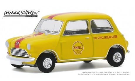 Cars Petrol DDA 1:64 Shell Oil 1959 Austin Seven Running On Empty