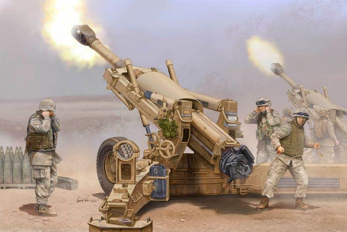 Plastic Kits I LOVE KIT (k) 1:16 M198 155mm Towed Howitzer