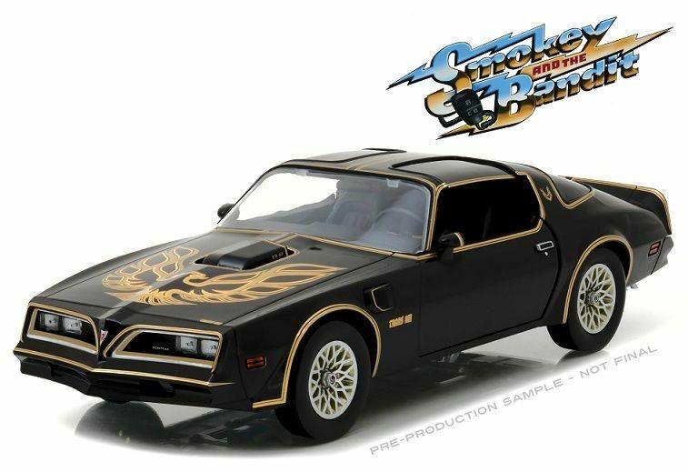Diecast DDA Greenlight 1/43 Smokey and the Bandit (1977) - 1977 Pontiac Firebird Trans Am Movie