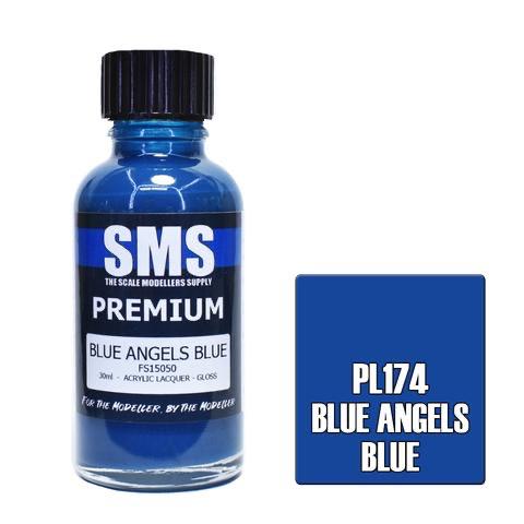 Paint SMS Premium Acrylic Lacquer BLUE ANGELS BLUE FS15050 30ml