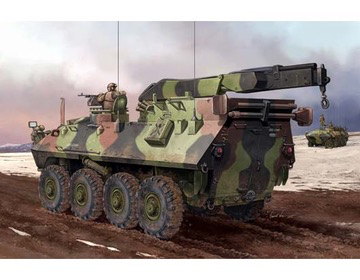 Plastic Kits TRUMPETER (i) 1/35 Scale - USMC LAV-R Light Armored Vehicle Recovery