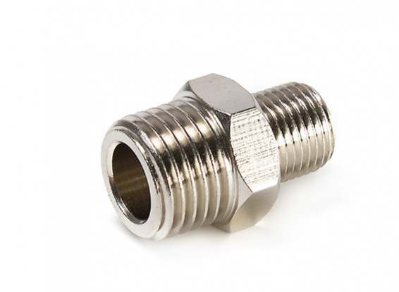 """Parts HSENG Adaptor 1/8"""" BSP Male to 1/4"""" BSP Male"""
