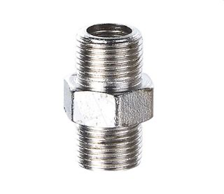 Parts HSENG Adapter 1/4 BSP Male To 1/4 BSP Male