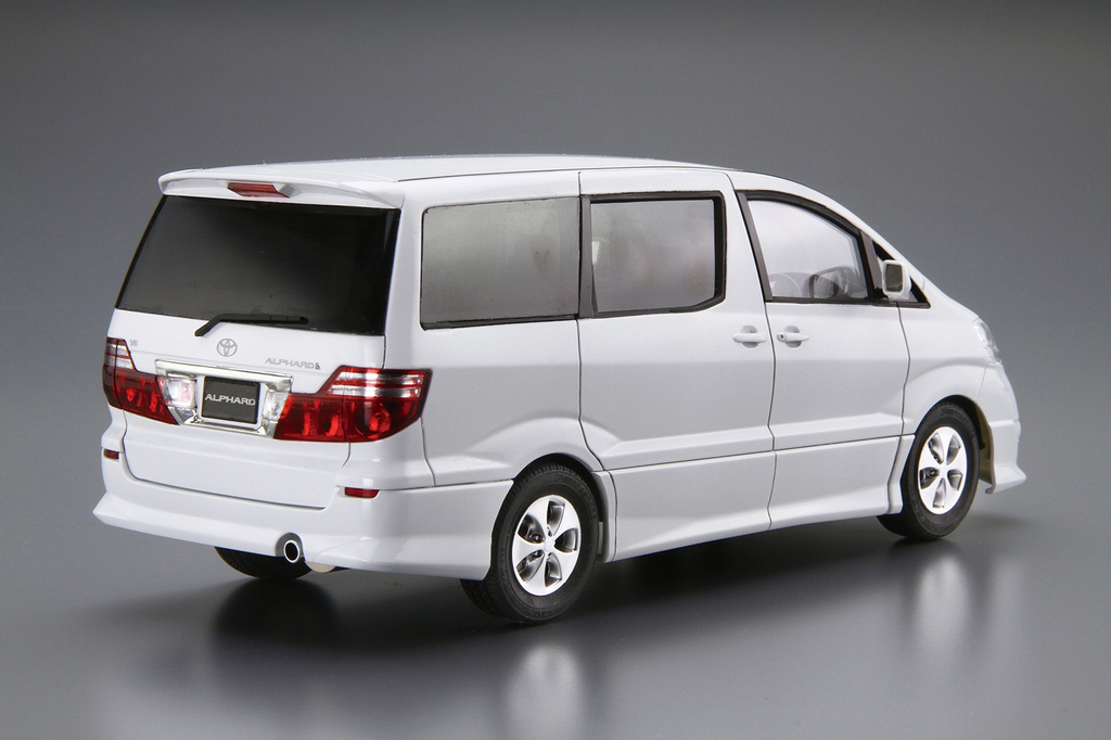 Plastic Kits Aoshima 1/24 Toyota NH10W Alphard G/V MS/AS '05