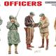 Plastic Kits Miniart 1/35 U.S.Officers Plastic Model Kit