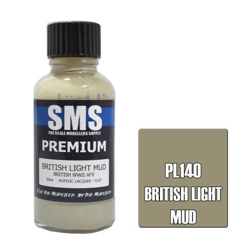 Paint SMS Premium Acrylic Lacquer BRITISH LIGHT MUD 30ml