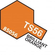 Paint Tamiya Color Spray for Plastics TS-56 Brilliant Orange. 100ml Spray Can