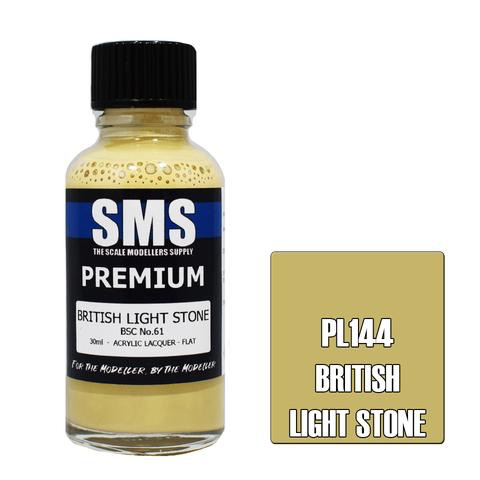 Paint SMS Premium Acrylic Lacquer BRITISH LIGHT STONE BSC NO.61 30ml