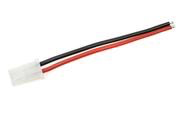 General Gforce AMP connector, Male, silicon wire 16AWG, 10cm (1pc)