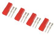 General Gforce BEC connector with gold plated pins, Female (4pcs)