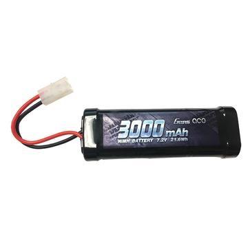 Battery NiMh Gens Ace 3000mAh 7.2V NiMH Battery (Tamiya Plug)